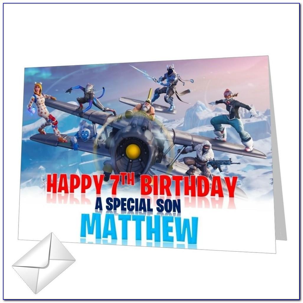 Fortnite Birthday Card Amazon