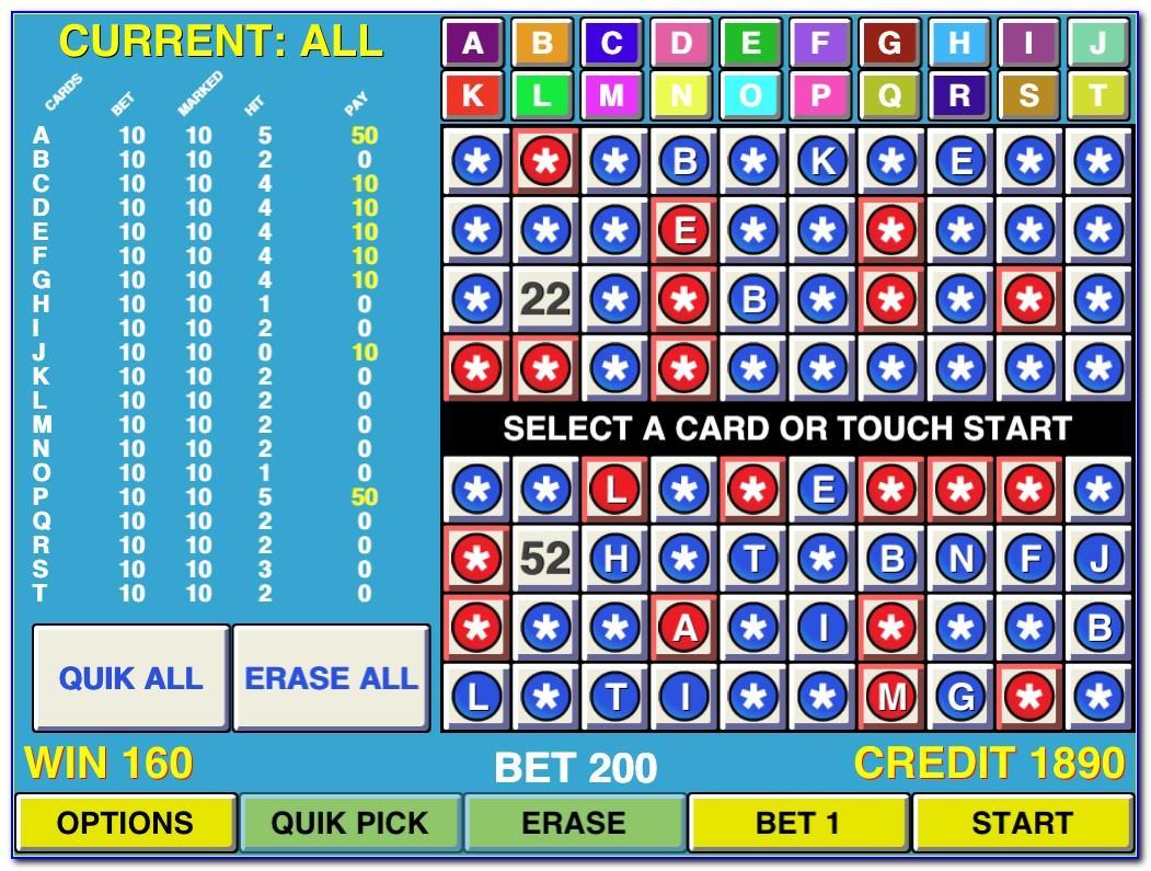 Free 20 Card Keno Download
