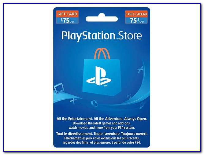 Free 25 Dollar Playstation Card