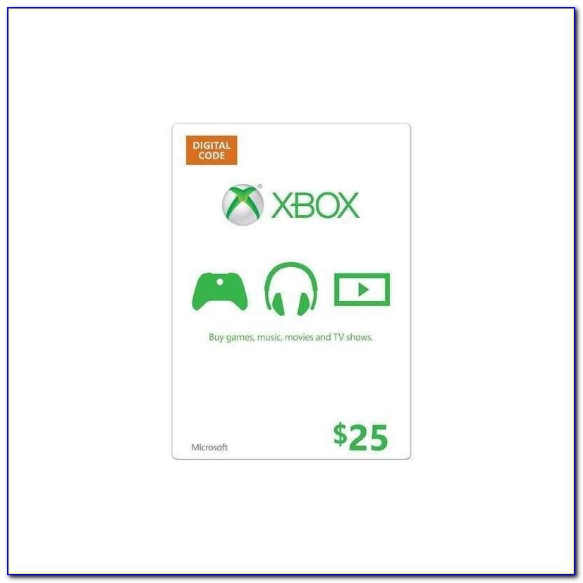 Free 25 Dollar Xbox Card Code Generator