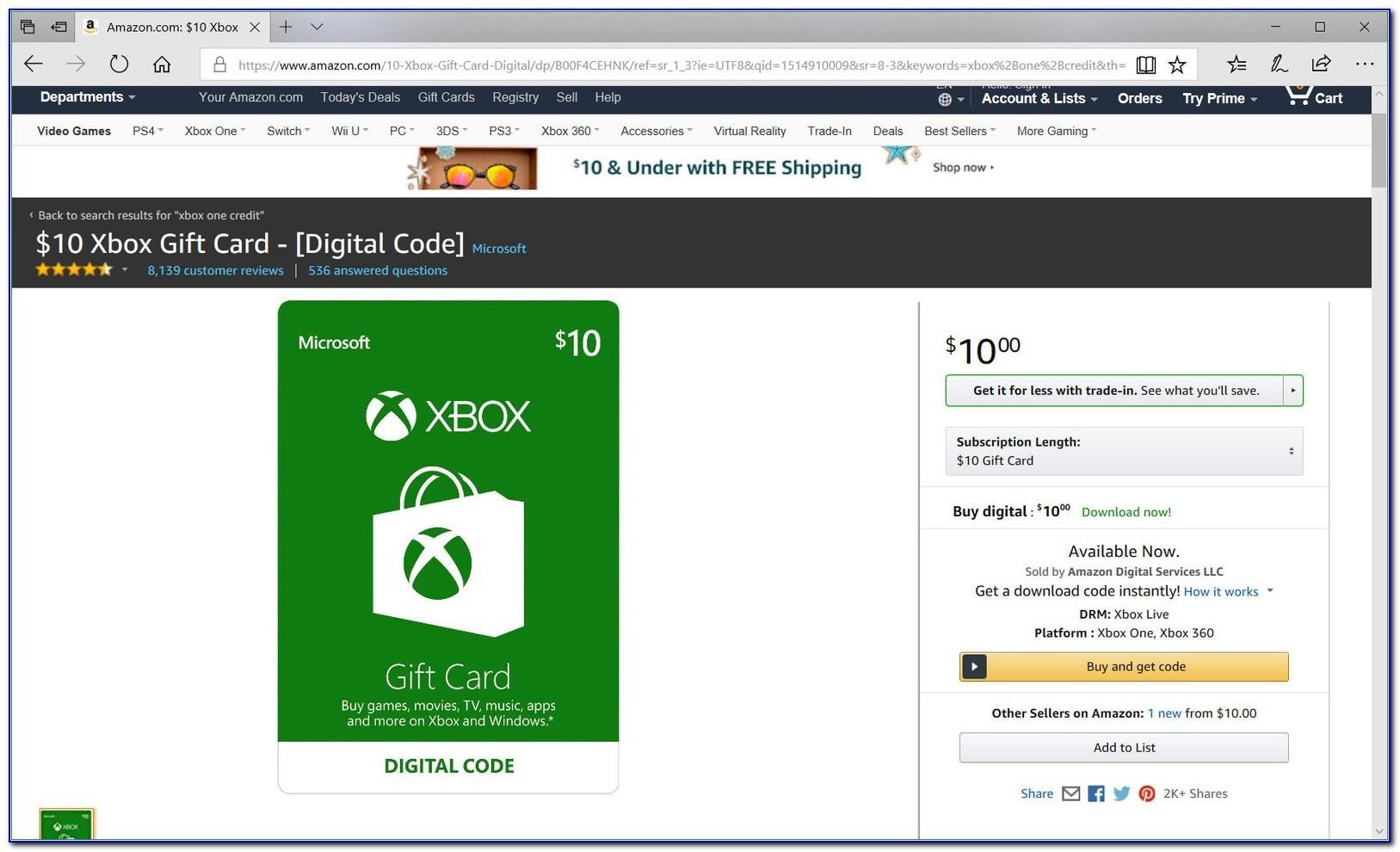 Free 25 Dollar Xbox Card Codes 2018