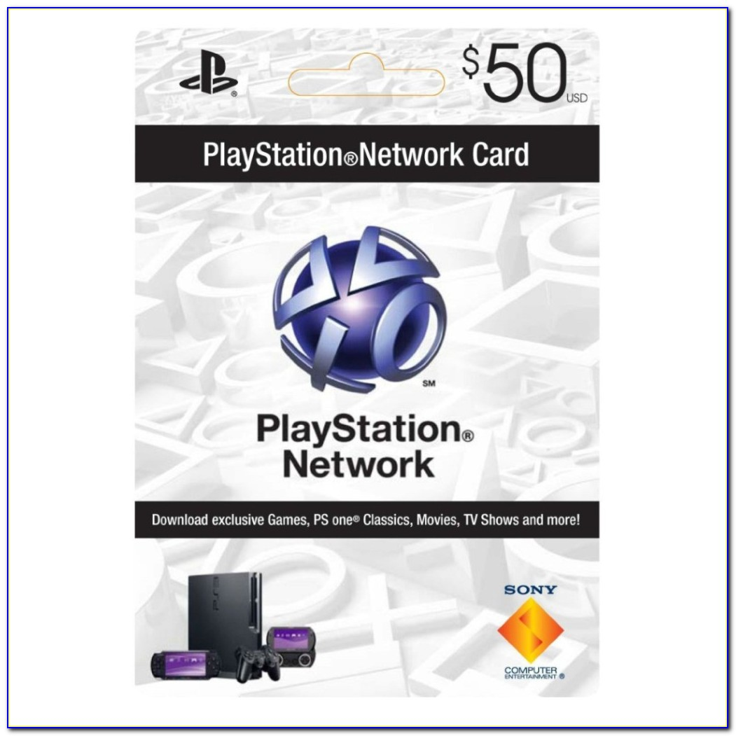 Free $50 Playstation Gift Card