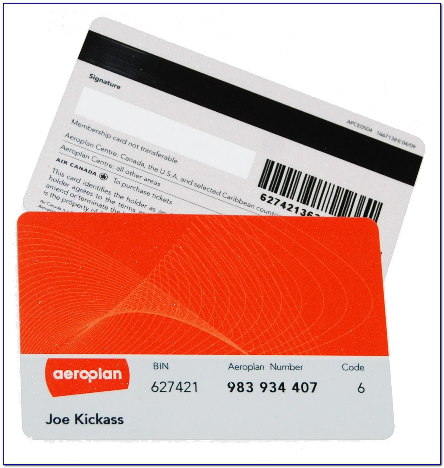 Free Aeroplan Card