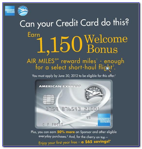 Free American Express Card Canada