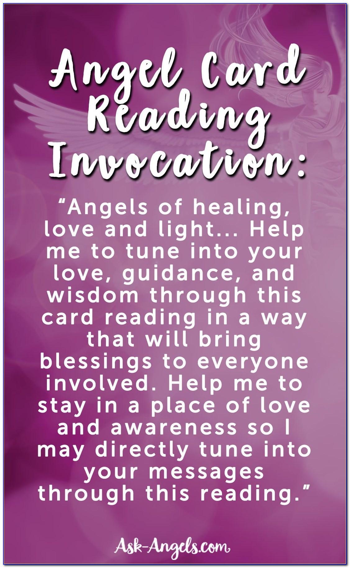 Free Angel Card Reading Love