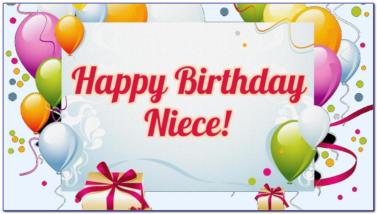 Free Birthday Card For Niece