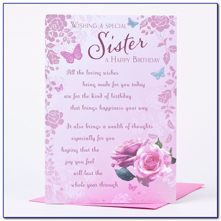 Free Birthday Card Images For Sister
