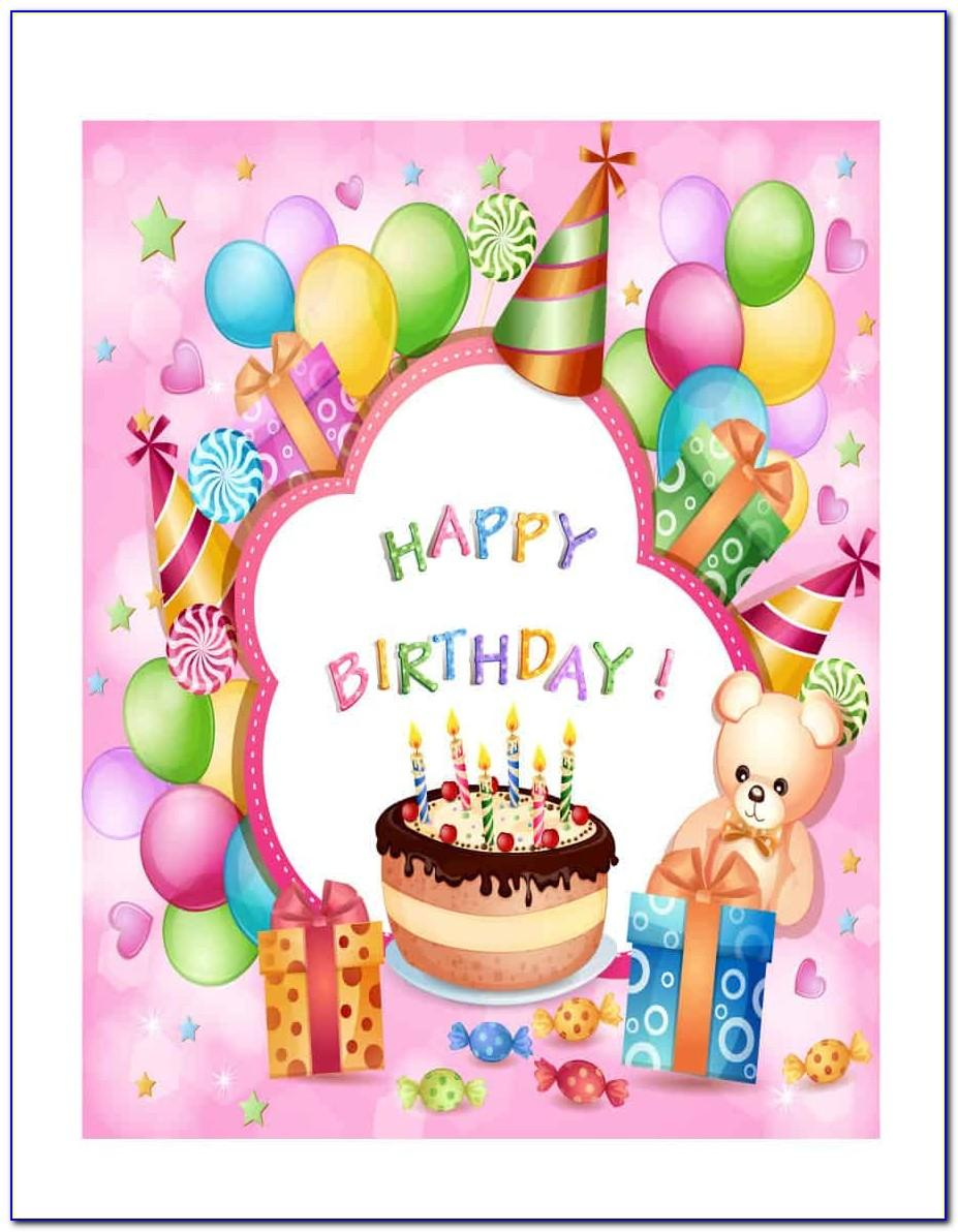 Free Birthday Card Templates For Microsoft Word