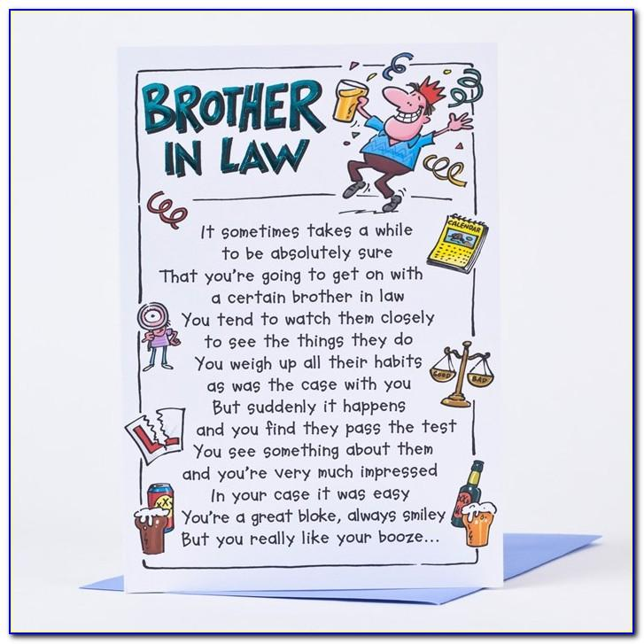 Free Birthday Cards For Brother In Law
