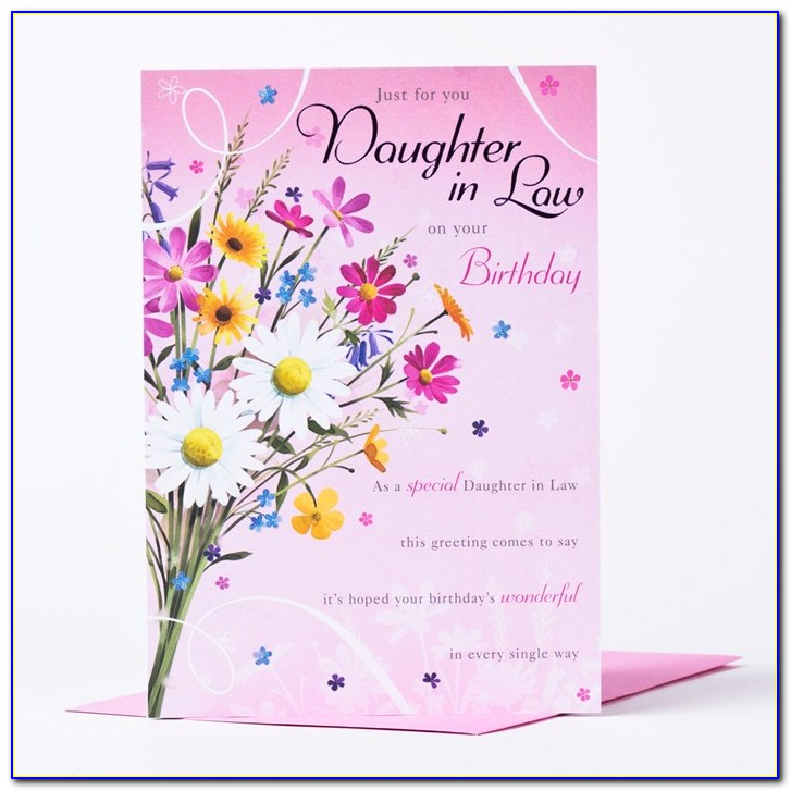 Free Birthday Cards For Daughter In Law