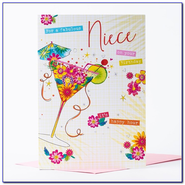 Free Birthday Cards For Niece With Name
