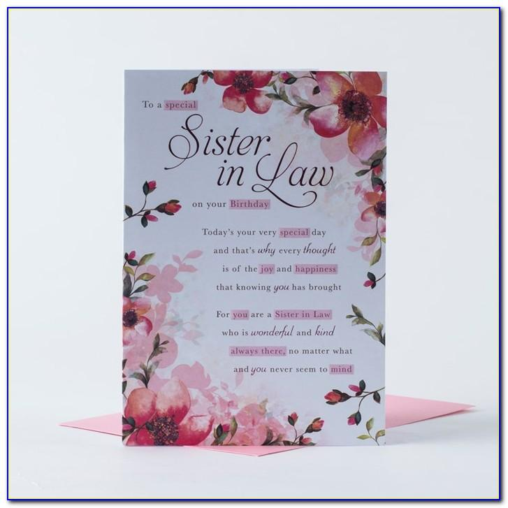 Free Birthday Cards For Sister In Law