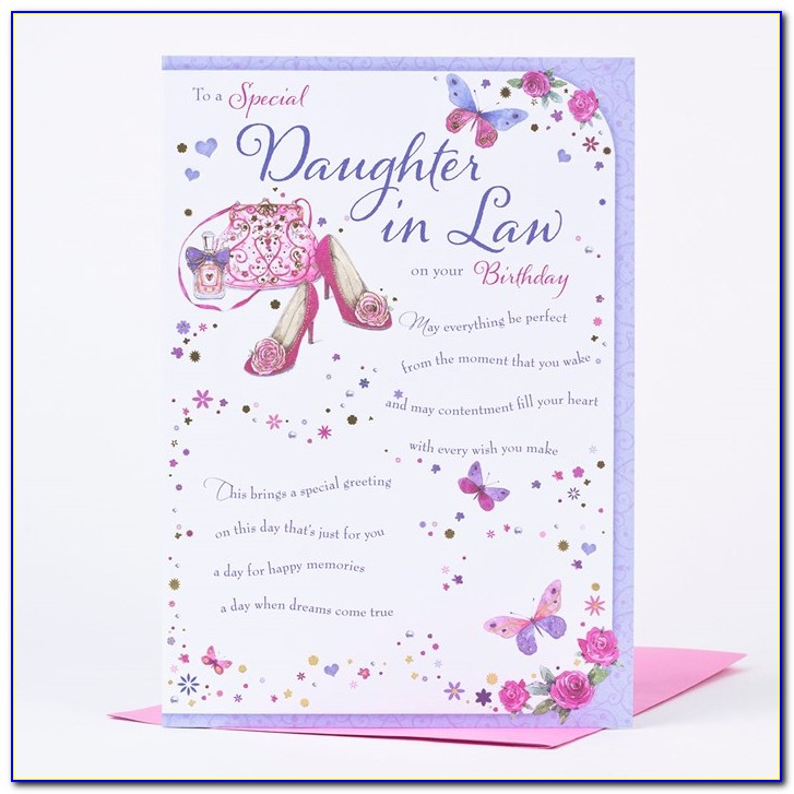 Free E Birthday Cards For Daughter In Law