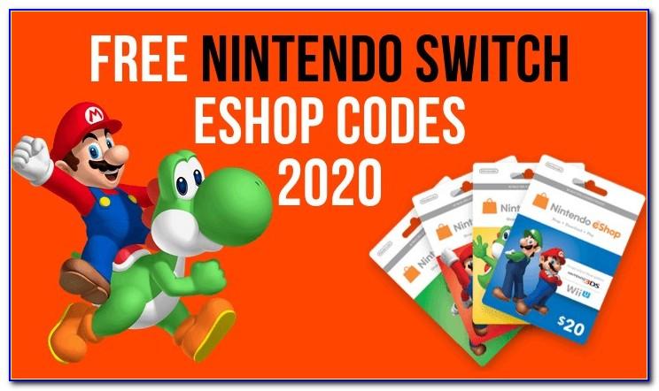 Free Eshop Card Generator