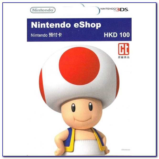 Free Eshop Gift Cards