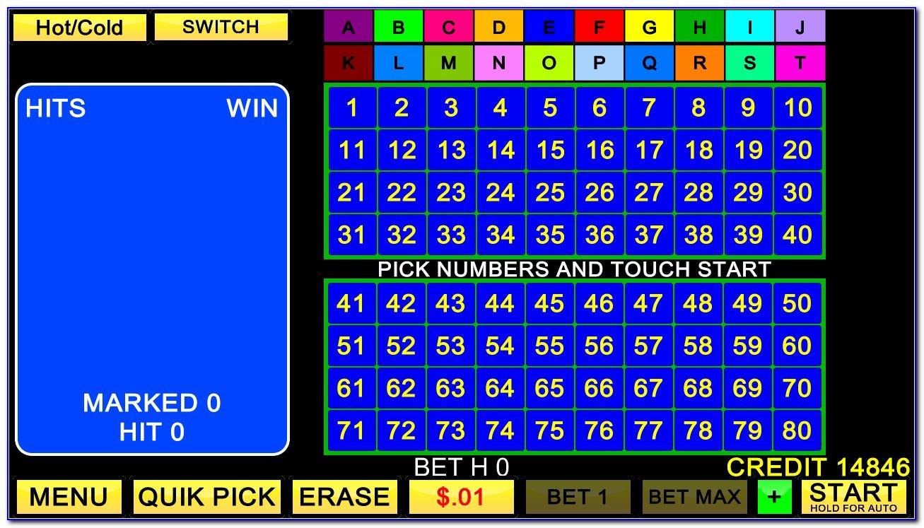 Free Four Card Keno Download