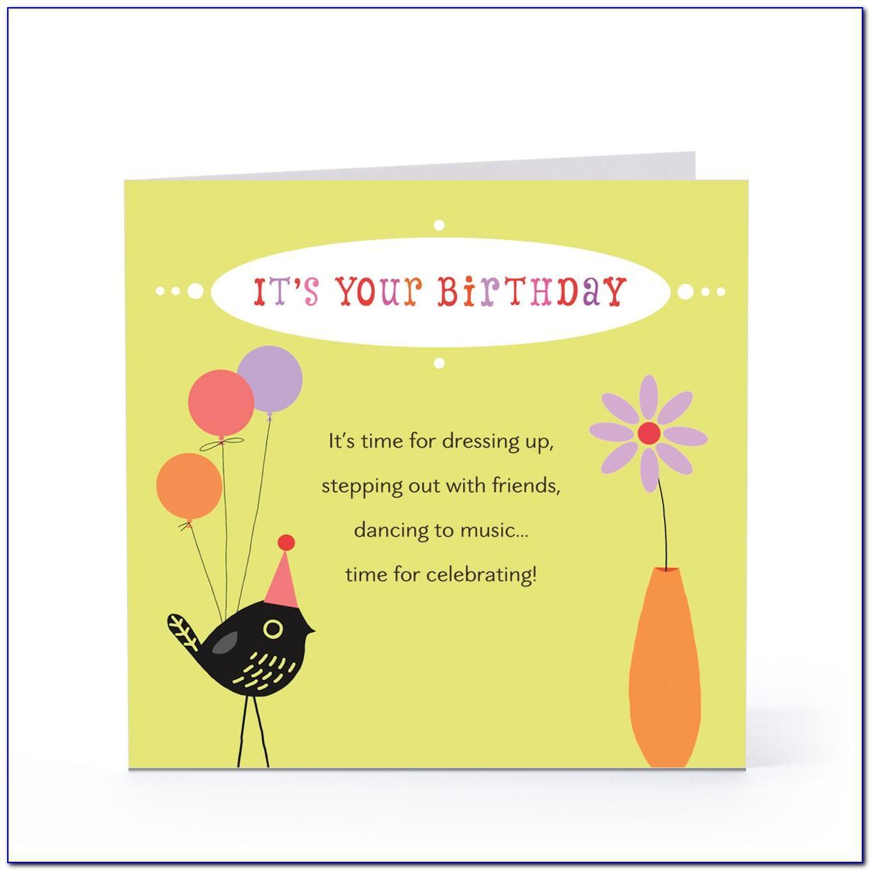 Free Funny Birthday Card Sayings