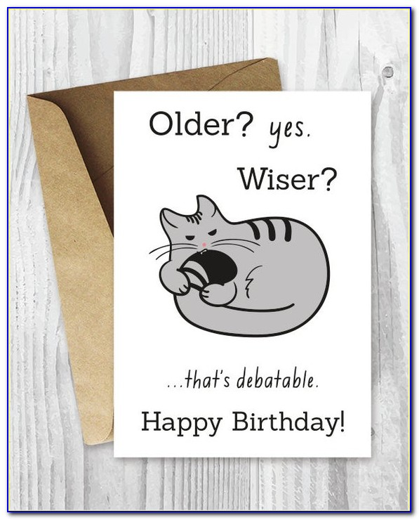 Free Funny Printable Birthday Cards For Her
