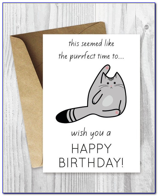 Free Funny Printable Birthday Cards For Him