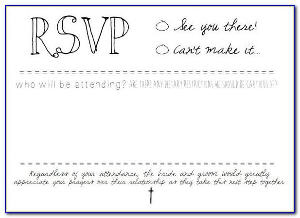 Free Graduation Rsvp Card Template
