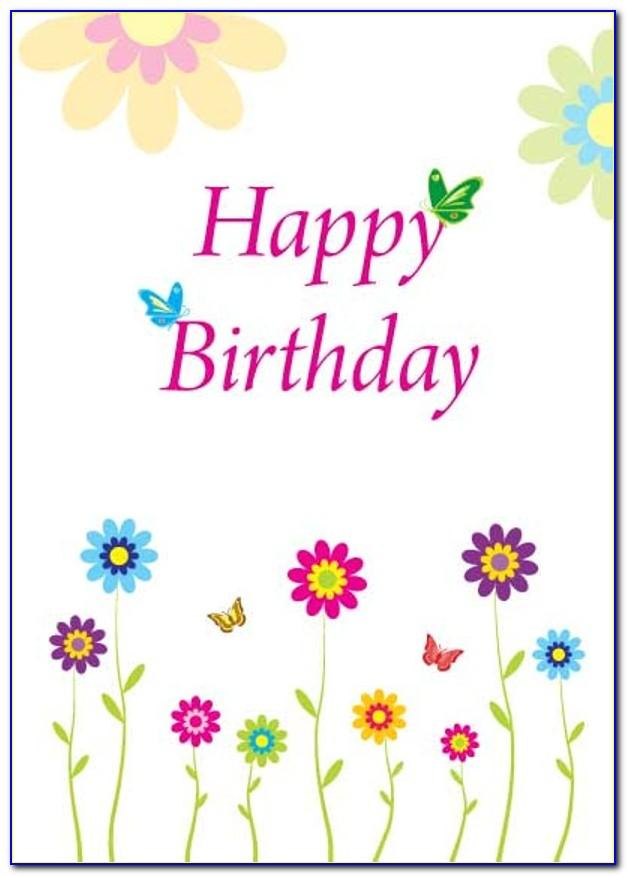 Free Happy Birthday Cards To Print Online