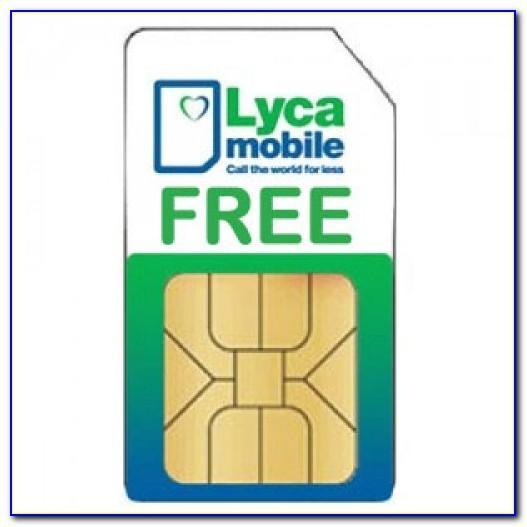 Free Lyca Sim Card Usa