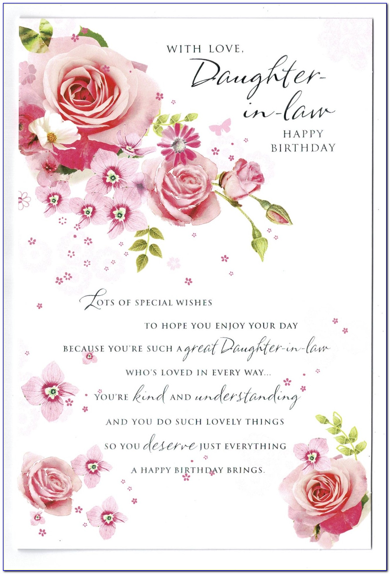 Free Musical Birthday Cards For Daughter In Law