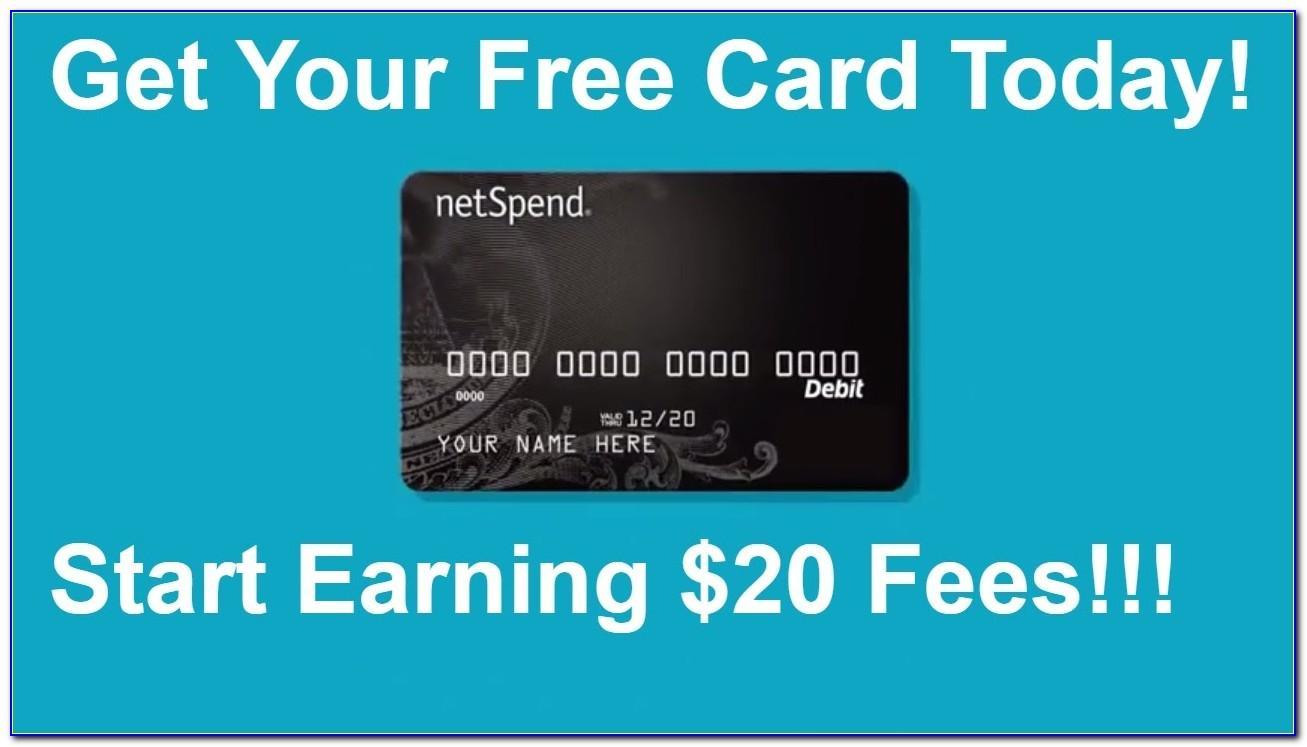 Free Netspend Prepaid Card