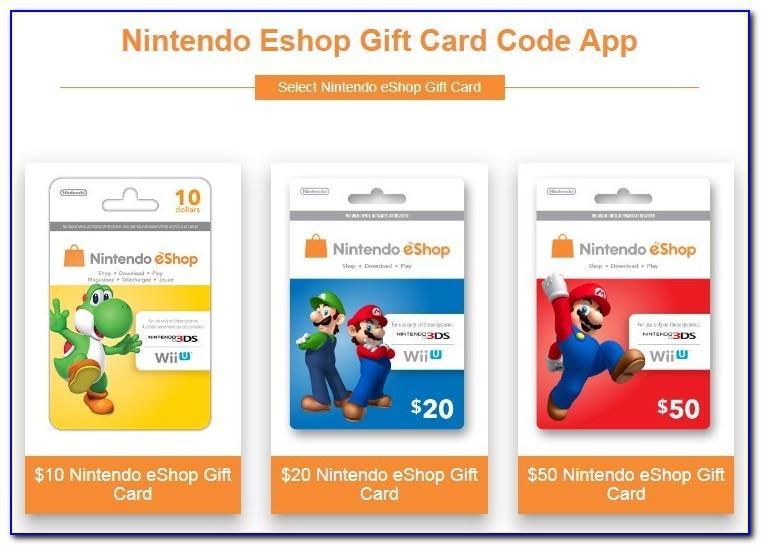 Free Nintendo Cards No Survey