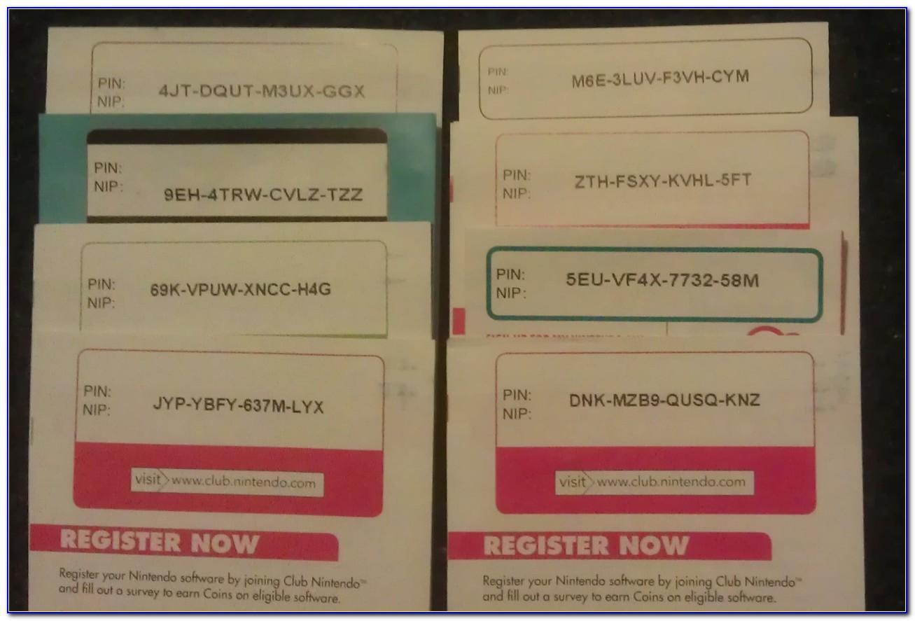 Free Nintendo Eshop Cards Codes