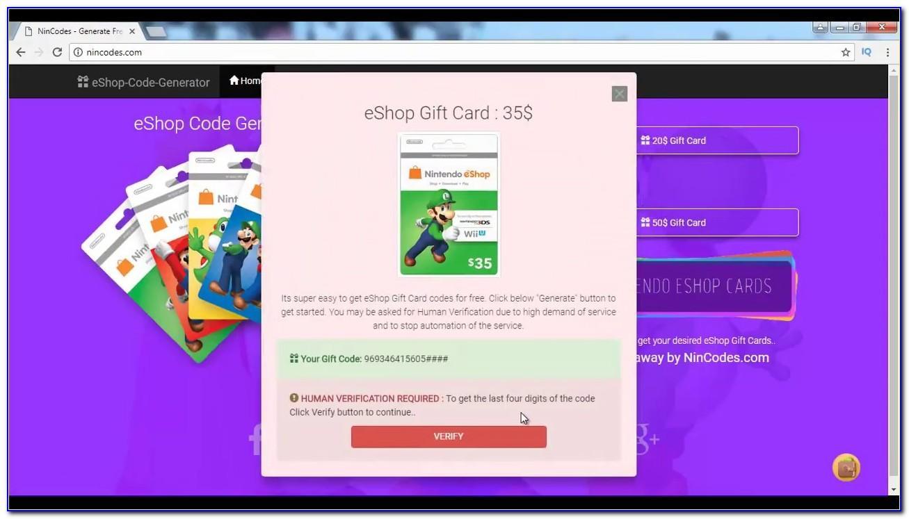Free Nintendo Eshop Cards Reddit