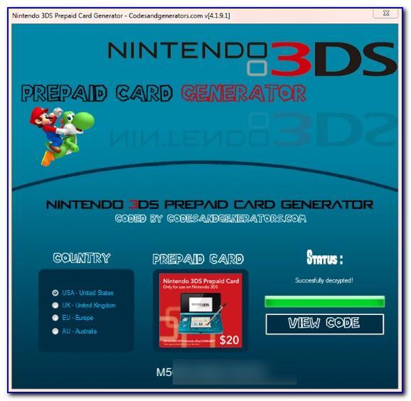 Free Nintendo Switch Cards