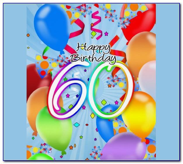 Free Online 60th Birthday Cards