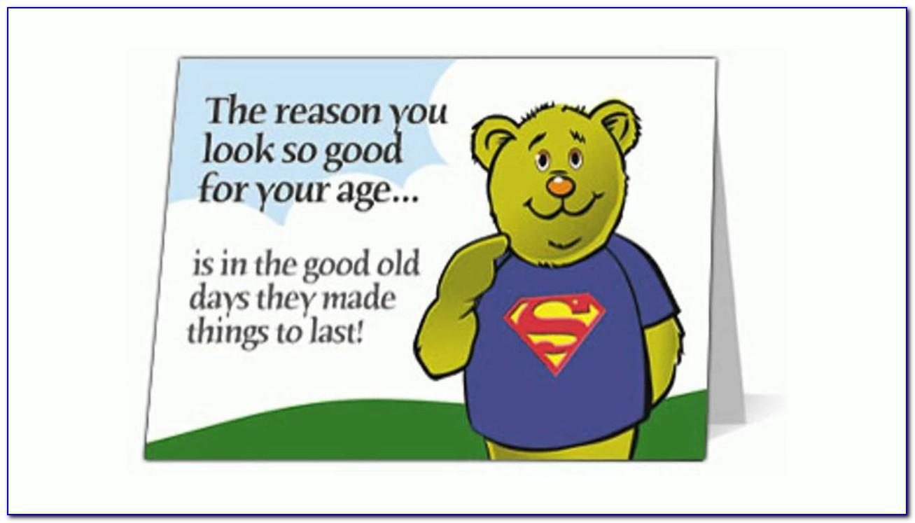 Free Online Funny Birthday Cards To Print