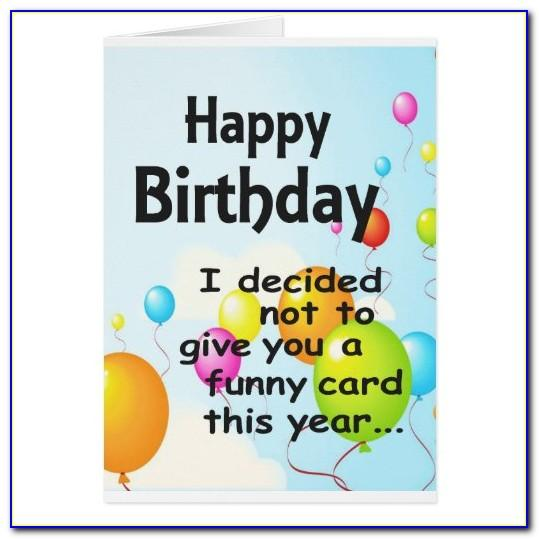 Free Online Funny Happy Birthday Cards