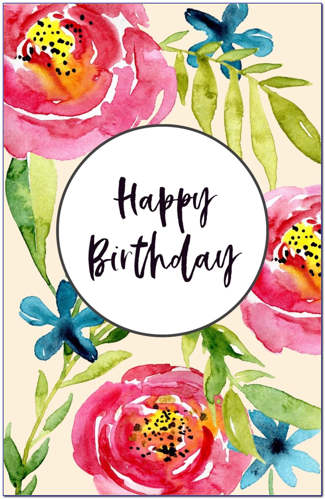 Free Printable 40th Birthday Cards For Her