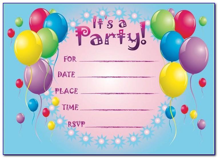 Free Printable 40th Birthday Invitation Cards