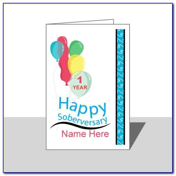 Free Printable Aa Anniversary Cards