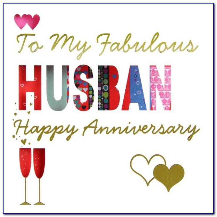 Free Printable Anniversary Cards For My Husband