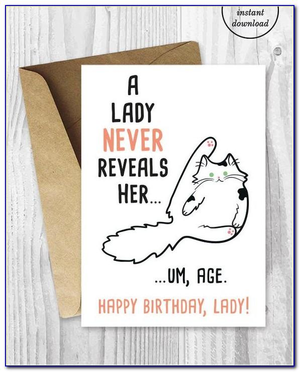 Free Printable Anniversary Cards For Wife Funny