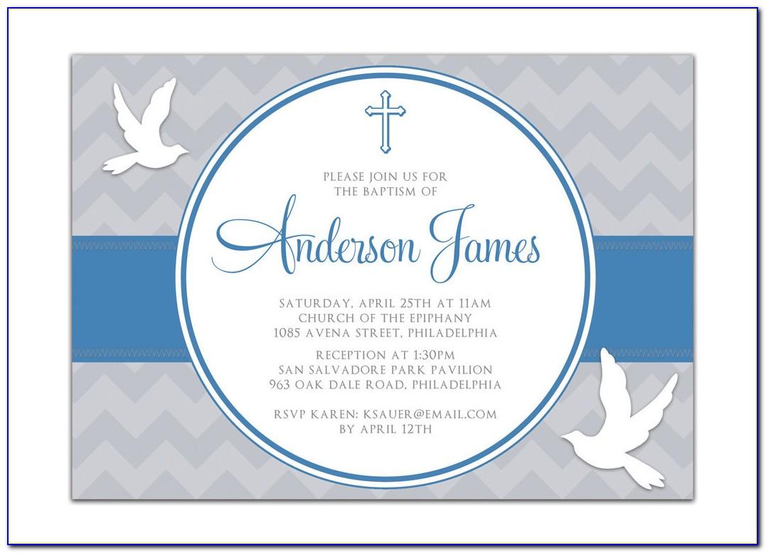 Free Printable Baptism Cards Boy