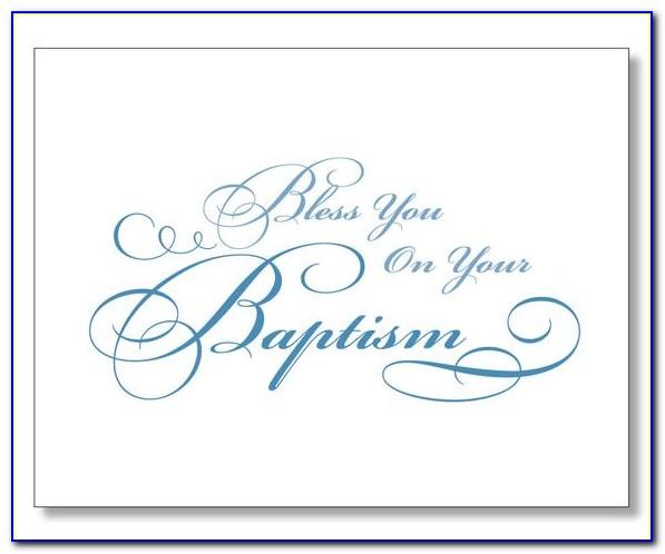 Free Printable Baptism Gift Cards