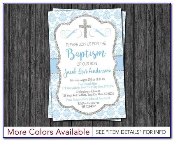 Free Printable Baptism Greeting Cards
