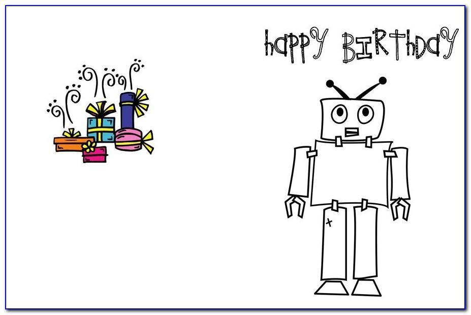 Free Printable Birthday Card For Boy
