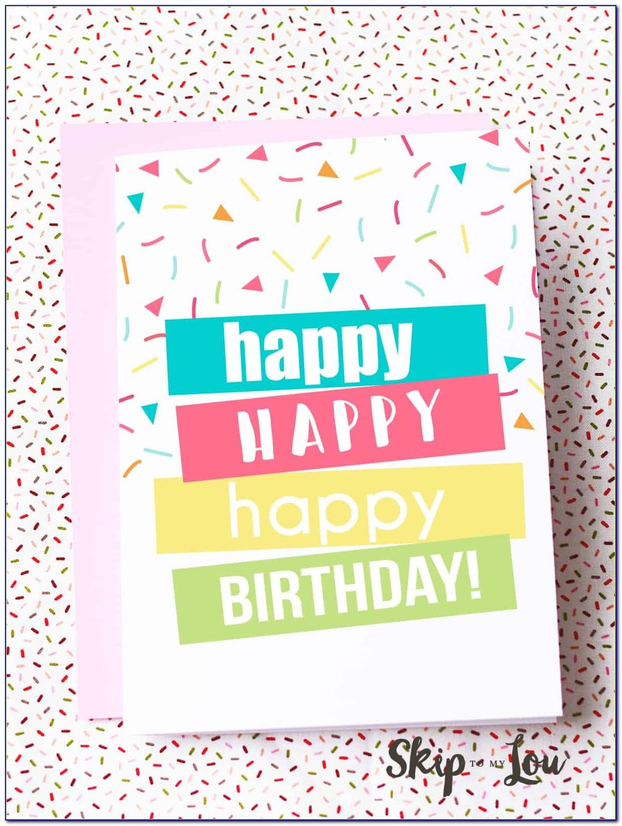 Free Printable Birthday Cards For Her Pdf
