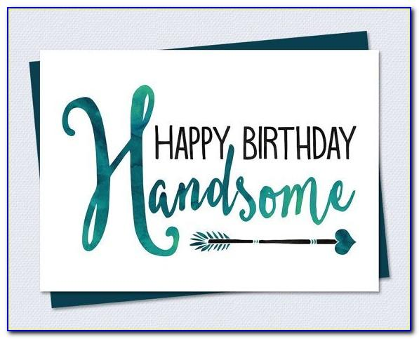 Free Printable Birthday Cards For Husbands