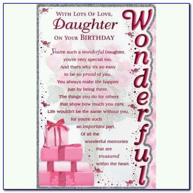 Free Printable Birthday Cards For Mom From Daughter