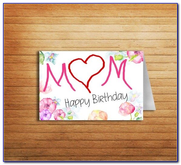 Free Printable Birthday Cards For Mother