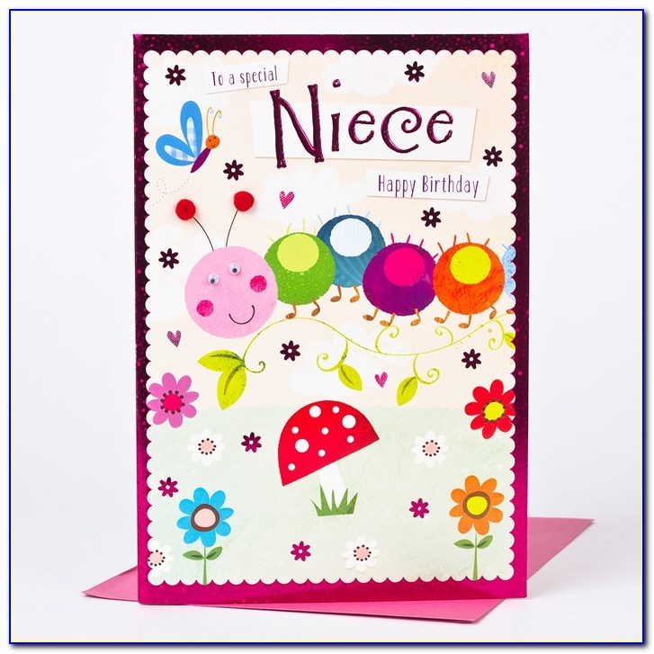 Free Printable Birthday Cards For Niece
