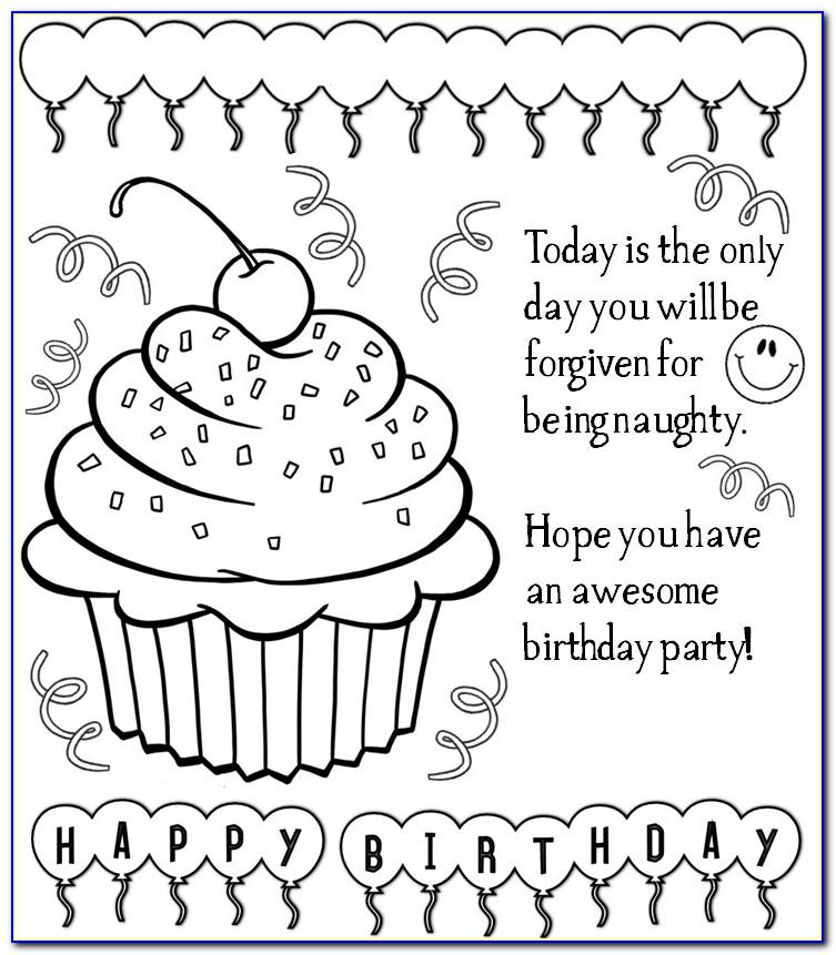 Free Printable Birthday Cards To Print